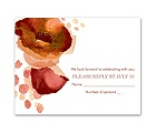 Sultry Blooms - Tango - Response Card and Envelope