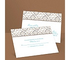 Antique Details - Chocolate - Response Postcard