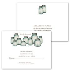 Canning Jars - Response Postcard