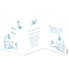 Delicate Butterflies Wedding Invitation