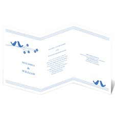 Perched Pair Wedding Invitation