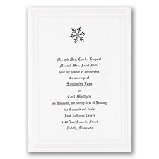 Snow White Wedding Invitation