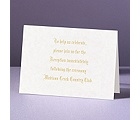 A Spiritual Path - Reception Card
