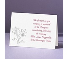Daisy Love - Reception Card