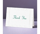 Loving Swirls - Thank You Card and Envelope