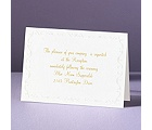 Pearl Frame - Reception Card