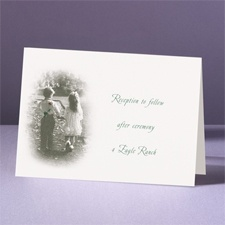 Young Love - Reception Card