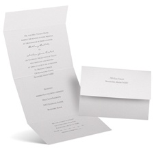 Pearl Beauty Seal and Send Wedding Invitation