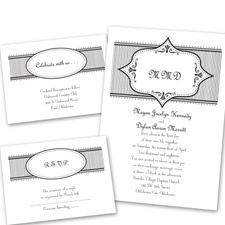 Simply Chic - Separate and Send Invitation