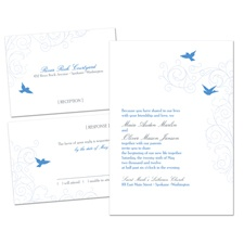 Love Song Separate and Send Wedding Invitation