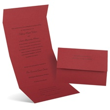 Passion Seal and Send Wedding Invitation
