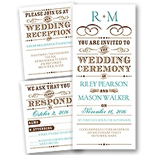 Presenting Separate and Send Wedding Invitation