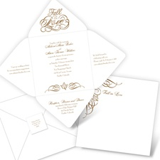 Love for Fall Seal and Send Fall Wedding Invitation