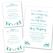 Ribbon Curls - Separate and Send Invitation