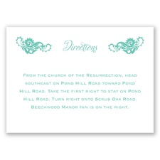 Lovely Lace - Direction Card