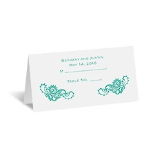 Lovely Lace - Place Card