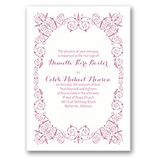 Vintage Whimsy - Invitation