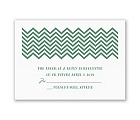 Quirky Chevron - Response Card