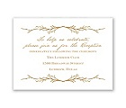 Natural Love - Reception Card