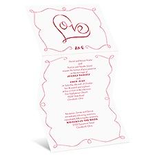 Hidden Love Wedding Invitation