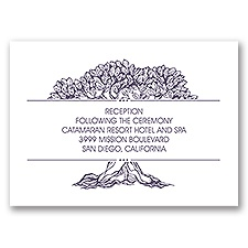Mature Love - Reception Card