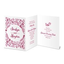 Floral Charm Wedding Invitation