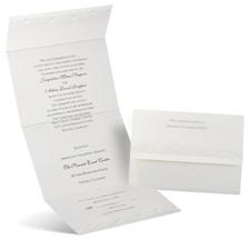 Pearl Roses - Seal and Send Invitation