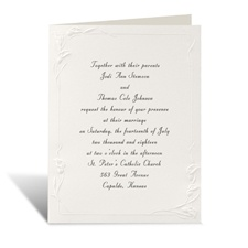 Crazy for Callas  Wedding Invitation