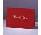 Are You Blushing - Thank You Card and Envelope