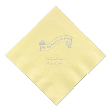 Yellow Dinner Napkin