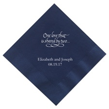 Navy Dinner  Napkins