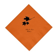Pumpkin Cocktail Napkin
