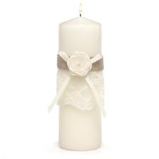 Rustic Country Unity Candle