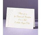 Lovely Lilies - Reception Card