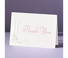 Candlelight - Thank You Card and Envelope