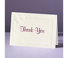 Romance at Full Bloom - Thank You Card and Envelope