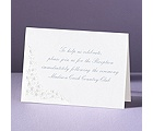 Hearts Aglow - Reception Card