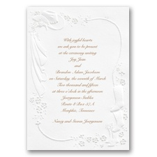 Western Fancy Wedding Invitation
