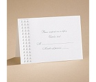 Shimmering Pearls - Response Card and Envelope