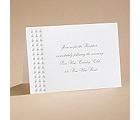 Shimmering Pearls - Reception Card