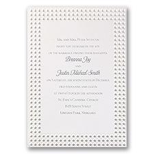 Shimmering Pearls Wedding Invitation