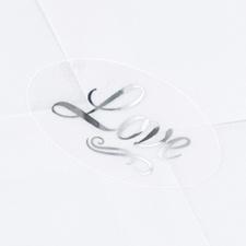 Silver Love Seal