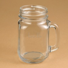 Bridesmaids Drinking Jar