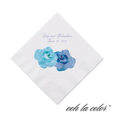 Heavenly Watercolor - Malibu - Cocktail Napkin
