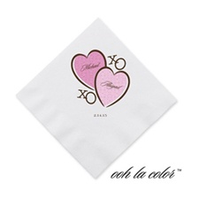 XOXO - Cocktail Napkin