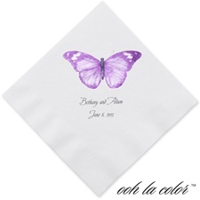 Butterfly in Grapevine - Dinner Napkin