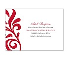 Flair for Style - Reception Card