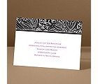 Blossoming Beauty - Ebony - Reception Card