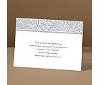 Blossoming Beauty - Gray - Reception Card