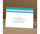 Band of Silver - Palm - Reception Card